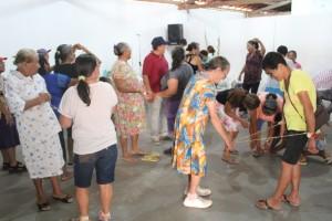 Grupo Arte, Cultura e Memória (Foto: Ivan Valentim)